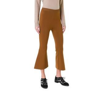 Stella McCartney Women's Rust Wool-blend Wide-leg Cropped Flare Pants|https://ak1.ostkcdn.com/images/products/15411008/P21867464.jpg?impolicy=medium