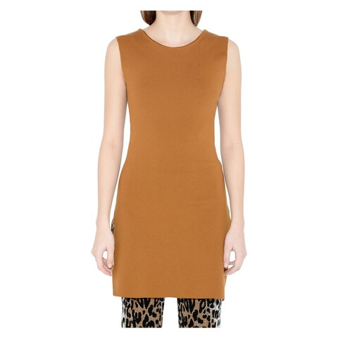 Stella McCartney Rust Umber Sleeveless Top