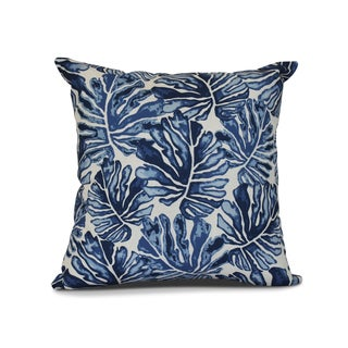 Palm Leaves, Floral Print Outdoor Pillow (More options available)