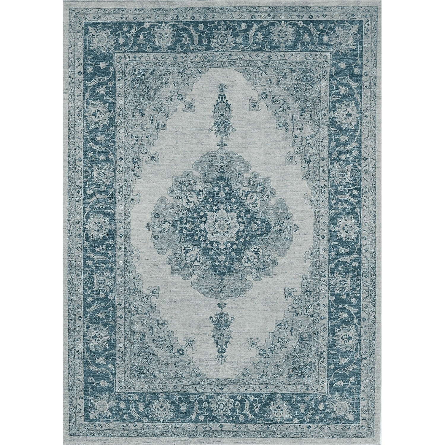 Details About Parisa Blue Ruggable Washable Indoor Outdoor Stain Resistant Pet Area Rug 5x7
