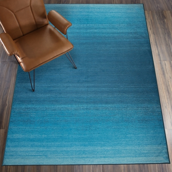 Shop Ruggable Washable Stain Resistant Pet Area Rug Ombre