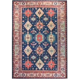 RUGGABLE Washable Indoor/ Outdoor Noor Sapphire Stain Resistant Area Rug (5' x 7')|https://ak1.ostkcdn.com/images/products/15413124/P21868095.jpg?impolicy=medium