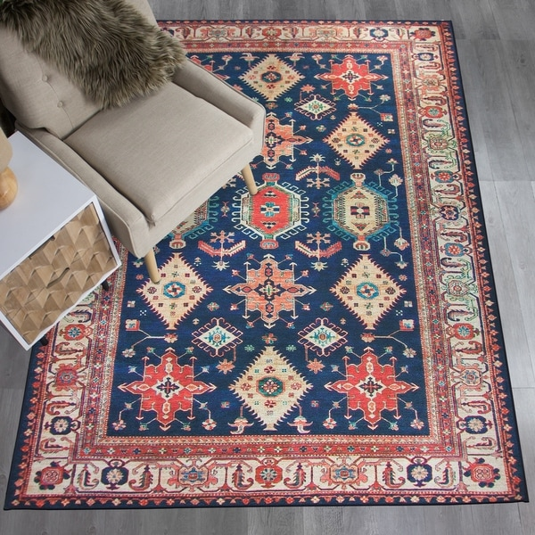 Shop RUGGABLE Washable Stain Resistant Pet Area Rug Noor