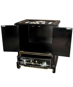 ... Handmade Black Lacquer End Table (China)   Thumbnail 1 ...