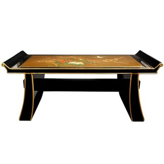 Gold Shinto Bench (China)
