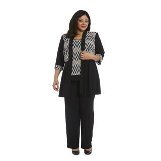 R&M Richards Plus Size Pant Set|https://ak1.ostkcdn.com/images/products/15413782/P21869692.jpg?impolicy=medium