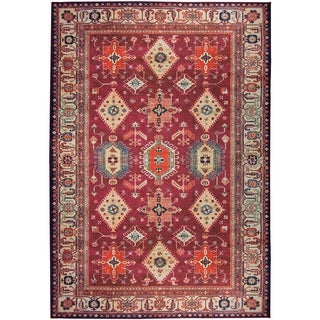 RUGGABLE Washable Indoor/ Outdoor Stain Resistant Pet Area Rug Noor Ruby - 5' x 7'