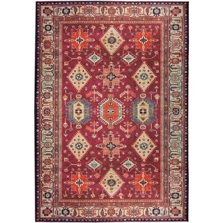 RUGGABLE Washable Stain Resistant Pet Area Rug Noor Ruby - 5' x 7'