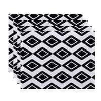 Diamond Jive 1, Geometric Print Placemat