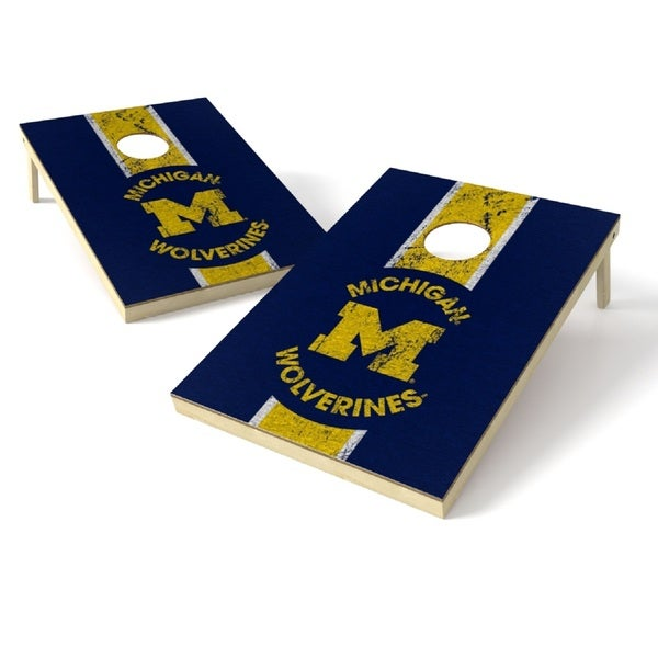 Wild Sports NCAA Tailgate Toss Game Set, Wolverines