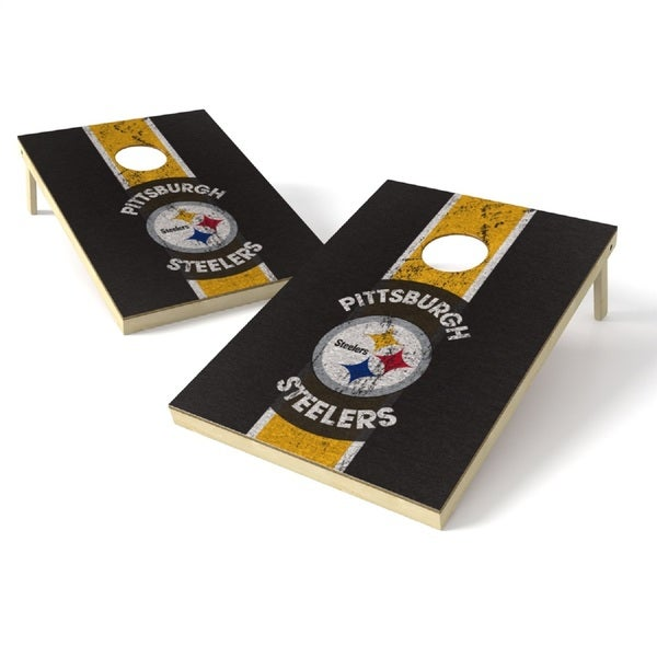 Wild Sports NFL Tailgate Toss Game Set, Steelers
