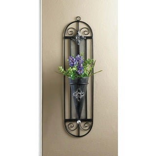 Vintage Wall Mounted Flower Holder