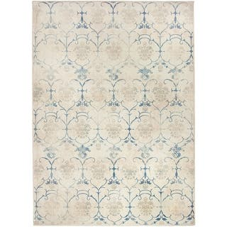 RUGGABLE Washable Indoor/ Outdoor Leyla Creme Vintage Stain Resistant Area Rug (5' x 7')|https://ak1.ostkcdn.com/images/products/15419623/P21875445.jpg?impolicy=medium