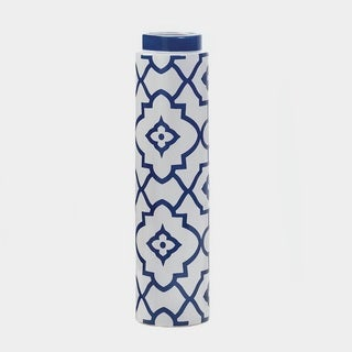 Geometric Ceramic Decorative Vase