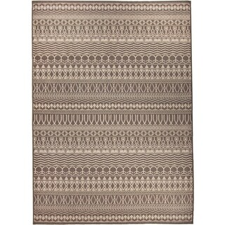 Ruggable Washable Indoor/ Outdoor Stain Resistant Pet Area Rug Cadiz Espresso (5' x 7') - 5' x 7'