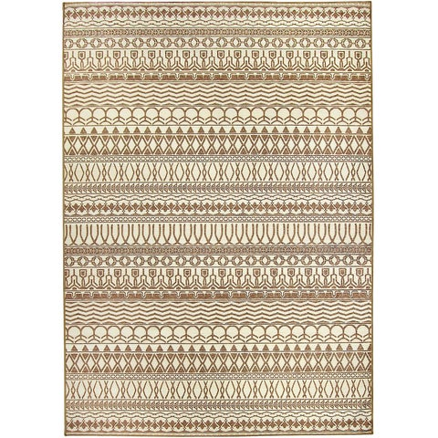 Ruggable Washable Indoor/ Outdoor Stain Resistant Pet Area Rug Cadiz Natural (5' x 7') - 5' x 7'