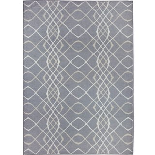 RUGGABLE Washable Indoor/ Outdoor Amara Grey Stain Resistant Area Rug (5' x 7')|https://ak1.ostkcdn.com/images/products/15419656/P21875449.jpg?impolicy=medium