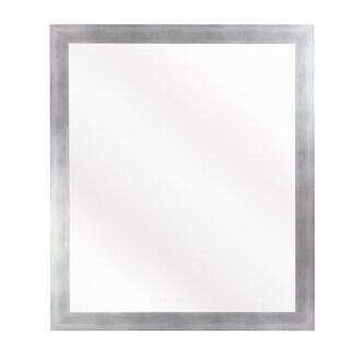 US Made Taciturn Silver Gunmetal Mirror - matte silver