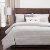 Siscovers Luxury Cotton-blend Sunwashed Slate Down Alt Duvet Cover Set