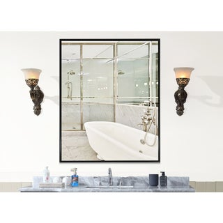 Carbon Loft Clement Black Wall Mirror (More options available)
