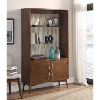 Jasper Laine Wire Back Display Cabinet (70 inches)