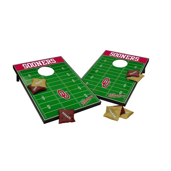 Wild Sports NCAA Tailgate Toss Game Set, Sooners
