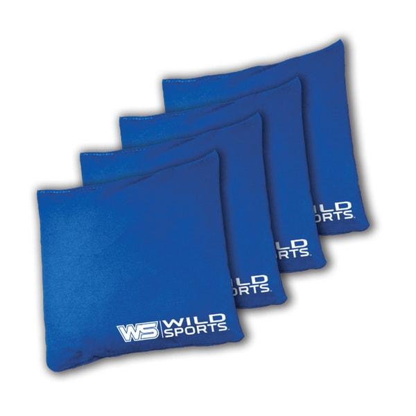 Wild Sports XL Regulation Bean Bags for Tailgate Toss Set, Blue