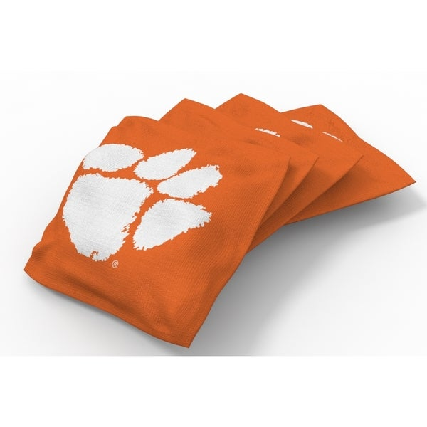 Wild Sports XL NCAA Bean Bags for Tailgate Toss Set, Tigers