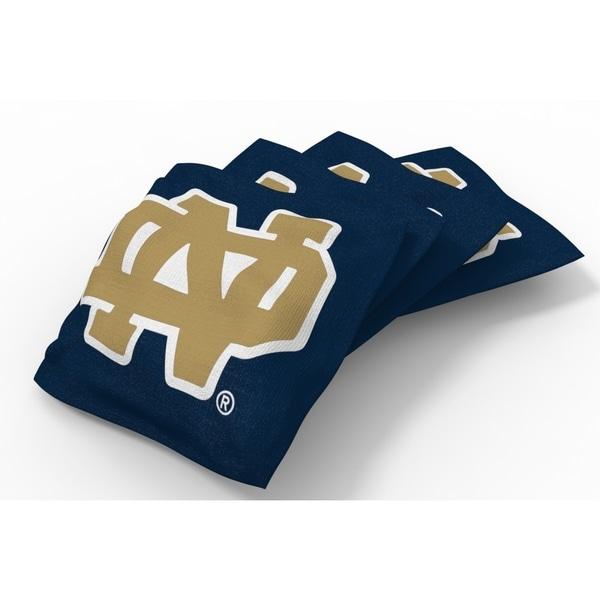 Wild Sports XL NCAA Bean Bags for Tailgate Toss Set, Fighting Irish
