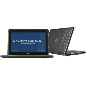 """MAXCases Extreme Shell for Dell 3189 Chrombook 11"""" (Black)"""