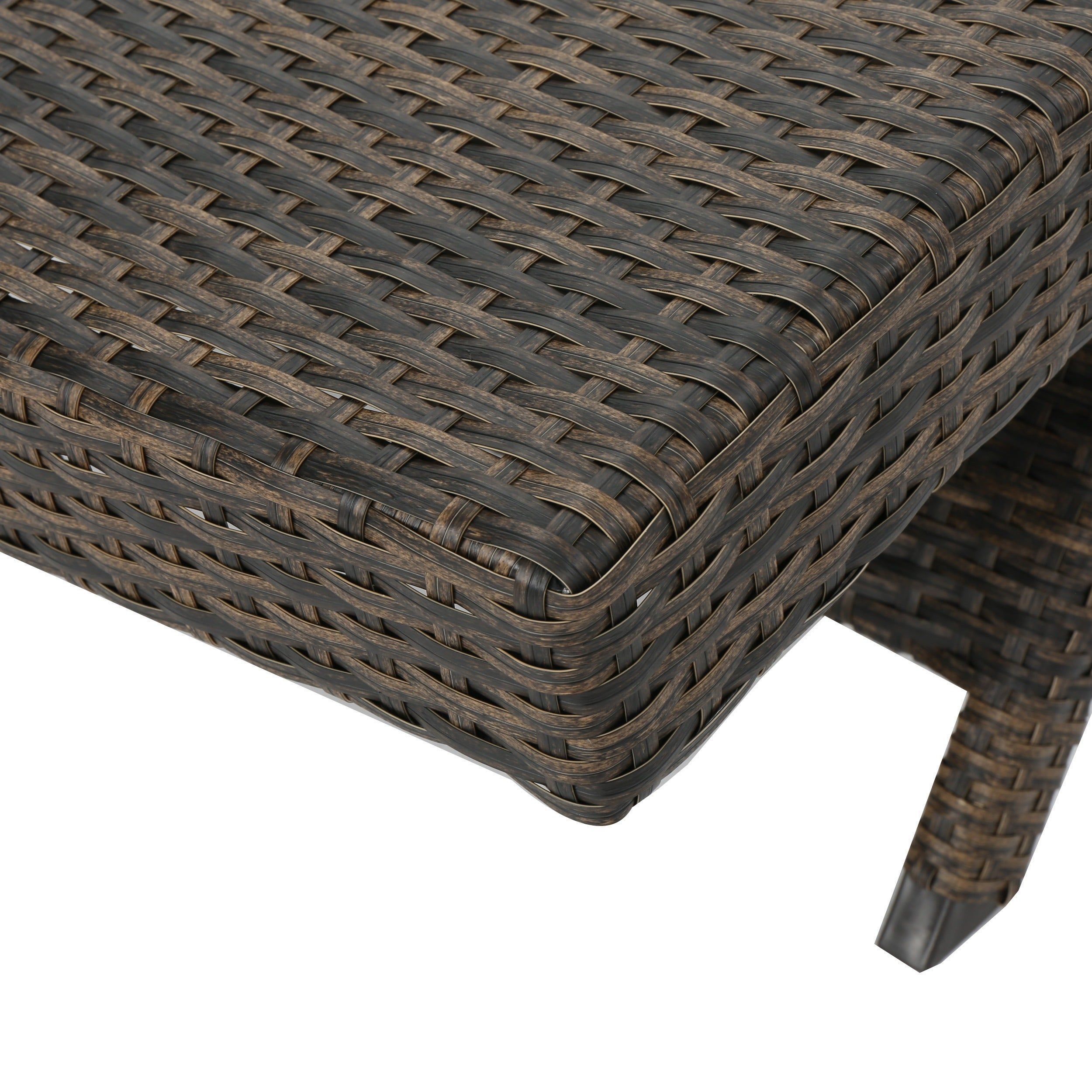 Round Folding Dining Table, Shop Thira Wicker Chaise Lounge Chair Set Of 2 By Christopher Knight Home Overstock 15425643