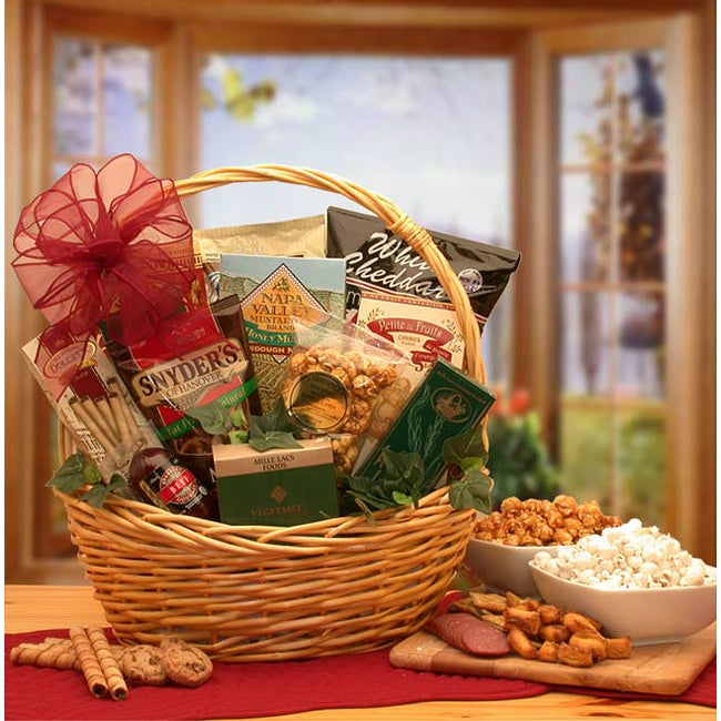 Snack Attack Small Gift Basket - Thumbnail 0