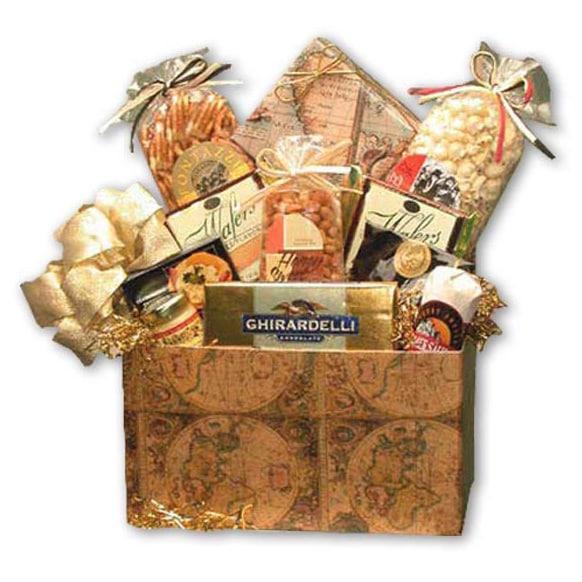 Classic Globe Large Gift Basket