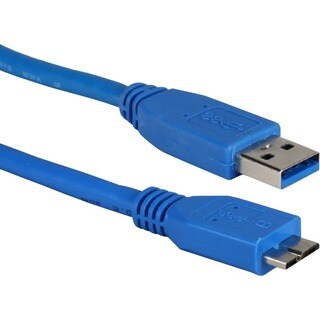 QVS 15ft USB 3.0/3.1 Micro-USB Sync, Charger and Data Transfer Cable