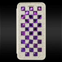Insten 3D Leather Rhinestone Bling Case Cover with Wallet Flap Pouch For Apple iPhone 6/ 6s