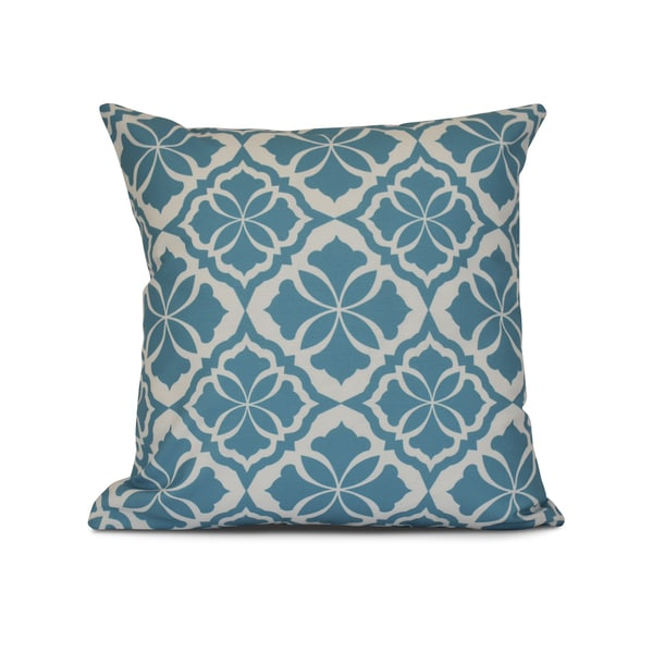 Ceylon, Geometric Print Outdoor Pillow
