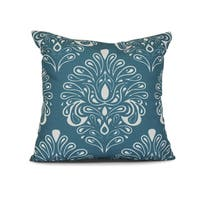 Veranda, Geometric Print Outdoor Pillow