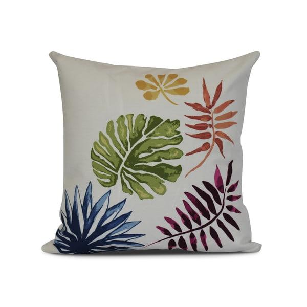 Brambles, Floral Print Outdoor Pillow