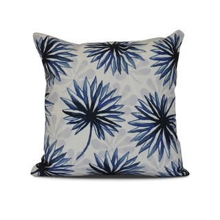 Spike and Stamp, Floral Print Outdoor Pillow