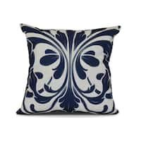 British Colonial, Geometric Print Pillow