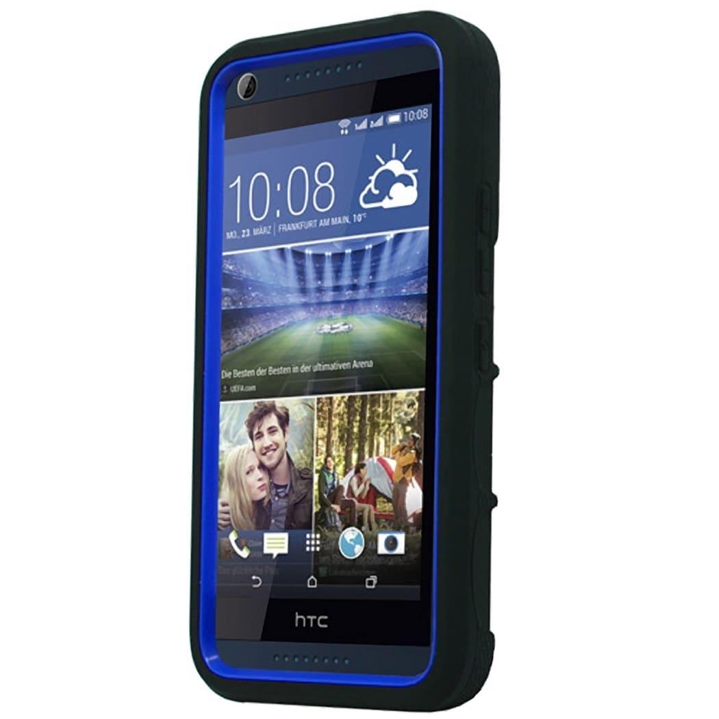 HTC Desire 626 Tough Case Dr. Blue (Green), Grey #PH-TCS-...