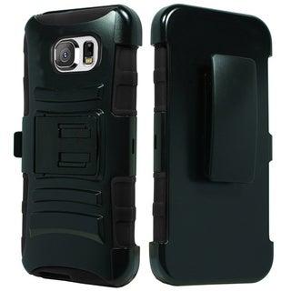 Samsung Galaxy S6 Hybrid H Stand w/ Holster Black