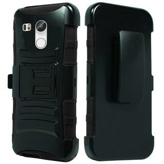 LG Nexus 5X H790 Hybrid H Stand Holster Black