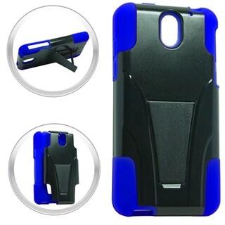 HTC Desire 610 Hybrid Case w/ Stand Blue