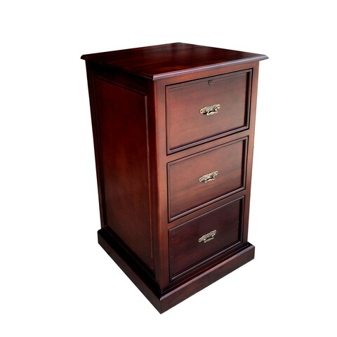 Handmade Lincolnwood Filling Cabinet 3 drawer (Indonesia)