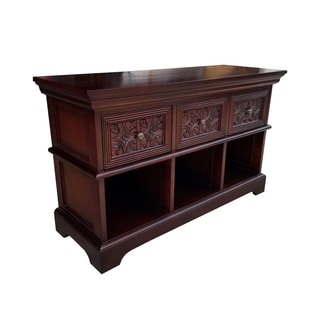 Carved Front Console Buffet