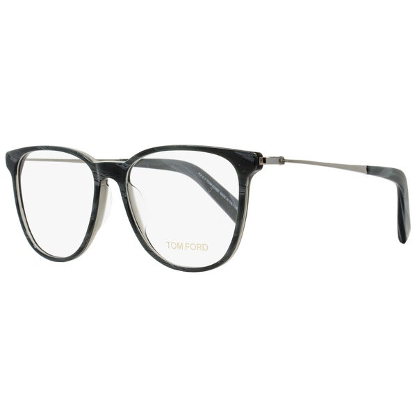 a2a16e5884278 Shop Tom Ford TF5384 020 Unisex Grey 53 mm Eyeglasses - Free ...