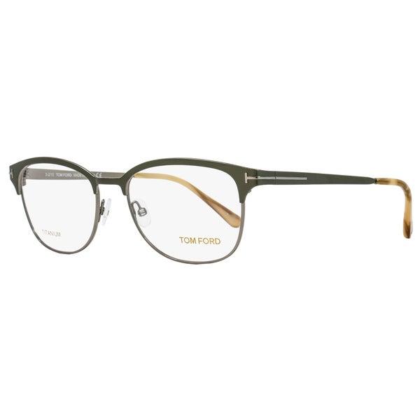 4c3250b9c47 Shop Tom Ford TF5381 093 Unisex Green 54 mm Eyeglasses - Free ...