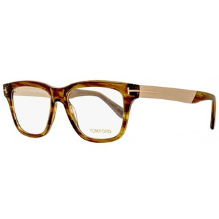 Tom Ford TF5372 048 Mens Brown 54 mm Eyeglasses