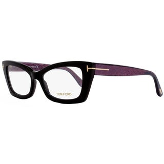 tom ford tf5363 005 womens black 53 mm eyeglasses